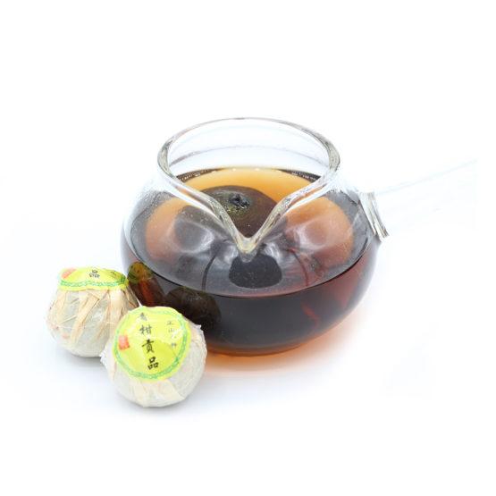 thé noir à l'orange infusé
